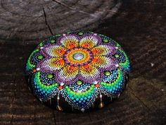 Bildresultat för målade stenar mandalas