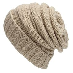 41.99$  Watch now - http://viefv.justgood.pw/vig/item.php?t=bzcs3w23961 - Unisex Winter Warm Cable Knit Scarf With Complementing Pompom Slouchy Beanie Hat 41.99$