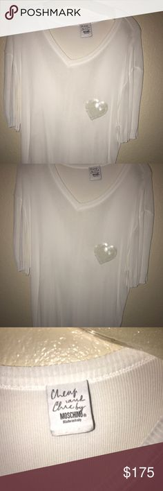 Men's shirt Men's designer shirt in excellent condition . Moschino Shirts