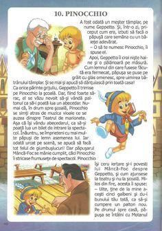 52 de povesti pentru copii.pdf Pinocchio, Winnie The Pooh, Disney Characters, Fictional Characters, Comics, Baby, Christmas, Xmas, Winnie The Pooh Ears