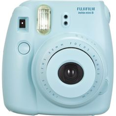 Fujifilm - instax mini 8 Instant Film Camera - Blue - Front Zoom YESYES I LOVE i like it better in blue but it'd perfer mint, but i still love it!