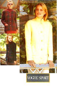 UNCUT Misses' Jacket Sewing Pattern Three by KeepsakesStudio