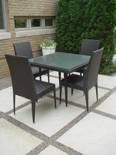 Contemporary Resin Garden Furniture