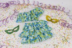 A fantasia de baiana é linda e delicada, e na eduK você pode aprender a costurar a fantasia para o Carnaval!