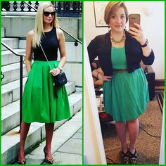 #ChubbyChique 7-26-2016 #ootd #beYOUtiful16 #pinneditspinnedit Green, black and leopard inspiration from @bowsanddepos