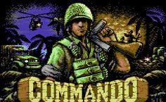 Commando C-64 loading screen