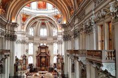Salzburg, Dom, Barcelona Cathedral, Building, Travel, City, Viajes, Buildings, Trips