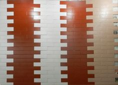 "BRICK TILES Standard Size : 2.5"" x 8"" Unit cost : 100 Tk Per sqft Application : Mainly in exterior Walls  Installation Process : Fixed with mortar Manufactor & Vendor : Bangladesh / Tiles World, Hatirpool"