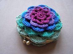 Monedero en Crochet.