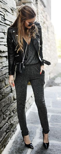 8785e0c6ab7 24 Street Style Ways to Wear Jumpsuits - modepourdames