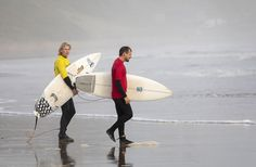 A pair of surfer dudes enjoying themselves on the west coast. The ocean water is not warm so they're wearing wet suits. Surfer Dude, Open Water, West Coast, Sailing, Ocean, Boat, Warm, Suits, Candle