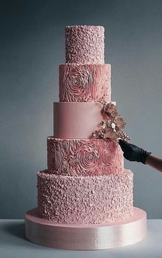 Wedding Cake Inspiration - Shared by Career Path Design