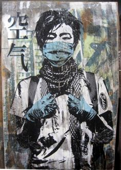 street art stencil by Eddie Colla