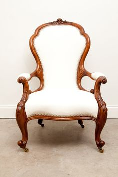 Maria's White Hot Chair by FoundDesignMiami on Etsy, $850.00