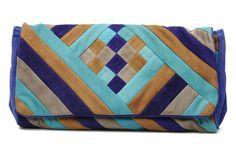Antik Batik axel baguette bleu