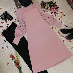 Muslim Women Fashion, Arab Fashion, Modesty Fashion, Fashion Outfits, Maternity Dress Outfits, Frock Patterns, Modele Hijab, Hijab Style, Kurti Designs Party Wear