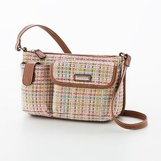 Rosetti Straw Miracle Mini Cross-Body Handbag