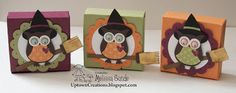 Halloween Witch Owl Favors