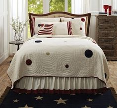 American Parade Quilted Bedding - traditional - quilts - other metro - Everything Primitives