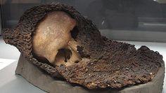 via @piersatpenn Skulls from the Battle of Visby, 1361