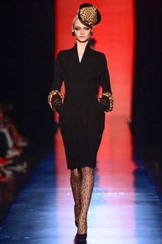 Jean Paul Gaultier Fall 2013 Couture Collection Slideshow on Style.com