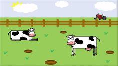 Het koeienvlaaienlied: leuk bij de Nationale Voorleesdagen 2015 www.bibliotheeklangedijk.nl