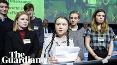 The Swedish climate activist Greta Thunberg has told an EU conference: 'Since our time is running out we have started to clean up your mess and w. Change Maker, For Everyone, Politicians, The Guardian, Future, Future Tense