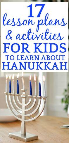 Hanukkah Story and 17 Lessons to Help Kids Learn Hanukkah Traditions - Hanukkah 2019 - Best Day on Year 2019 What Is Hanukkah, Hanukkah For Kids, Hanukkah Crafts, Feliz Hanukkah, How To Celebrate Hanukkah, Happy Hanukkah, Jewish Hanukkah, Hannukah, Holiday Crafts