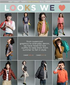 crewcuts is undeniably the cutest kid's clothing eva.