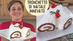 Christmas Dishes, Christmas Wood, Crepes, Wood Cake, Thanksgiving Menu, Biscotti, Nutella, Delicious Desserts, Christmas Sweaters