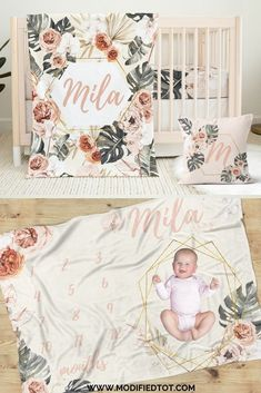Loving this tropical floral crib bedding set for your baby girl nursery theme! Check out the full nursery collection with floral nursery decor, nursery curtains, and more! Baby Girl Crib Bedding, Baby Girl Nursery Themes, Baby Rooms, Nursery Ideas, Nursery Curtains, Nursery Room, Nursery Decor, Bohemian Nursery, Floral Nursery