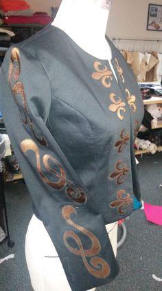 Angela's applique jacket. #wardrobechallenge