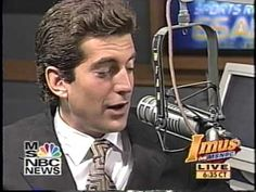 Imus with John F. Kennedy Jr. Part 1 - YouTube