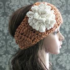 Free Crochet Headband Pattern - Posh Patterns Modern Crochet Patterns, Crochet Flower Patterns, Knitting Patterns Free, Crochet Flowers, Pattern Flower, Knitting Designs, Crochet Ideas, Easy Crochet Headbands, Diy Baby Headbands