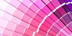 KODESPRÅK: Tall og bokstaver beskriver akkurat hvilken farge du har foran deg.
