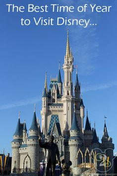Wondering What Is The Best Time Of The Year To Visit Walt Disney World?  Find out here!