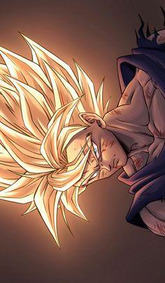 Cool Anime Wallpapers, Animes Wallpapers, Goku Drawing, Goku Wallpaper, Super Anime, Dragon Ball Image, Dragon Images, Naruto, Cartoons