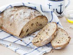 מתכון ללחם עגבניות מיובשות של נטלי לוין מהבלוג עוגיו.נט. כי לחם טרי וביתי הוא אחד התענוגות הגדולים שיש ואין גאווה גדולה יותר מלבצוע לראשונה לחם שאפיתם בעצמכם
