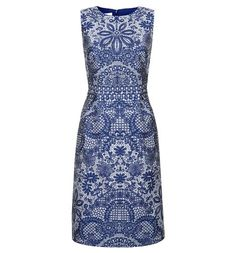 Lovely mosaic style print dress - option for May ball, dry clean only though.