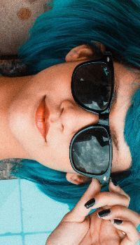 Blue sunglasses woman | woman swimming pool | girl portrait | female face | girl model | young girl portrait | girl style | female wallpaper | female face | portrait wallpaper Blue Sunglasses, Sunglasses Women, Swimming Pool Designs, Swimming Pools, Images Of Glasses, Glasses Wallpaper, Children Swimming Pool, Pool Wedding, Stair Makeover