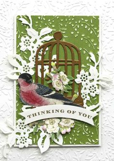 HSN July 11th, 2017 Product Preview 5 | Anna's Blog - Bird Cage and Branches Dies and Folders, set includes 7 cut and emboss dies and 2, 5 x 7 embossing folders