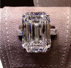 Gia Certified 5 Carat Emerald Cut Diamond Engagement