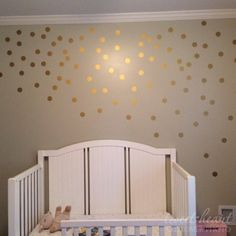 These 2 Polka Dot Wall Decals are such a fun and easy way to decorate a wall. Easy peel and stick application! { THIS LISTING INCLUDES } 2 Polka Dots in one color - Choose your quantity Polka Dot Wall Decals, Polka Dot Walls, Gold Polka Dots, Bedroom Wall, Bedroom Decor, Stick Wall Art, Activity Room, Toddler Rooms, Girl Room