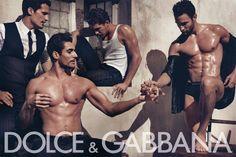 Dolce & Gabbana Spring/Summer 2010 Menswear Ad Campaign