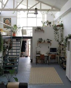 Trendy home decored ideas apartment small spaces kitchens tiny house 53 ideas Cozy Apartment, Dream Apartment, Bedroom Apartment, Apartment Living, Bedroom Decor, Apartment Plants, Apartment Ideas, Living Rooms, Bedroom Ideas