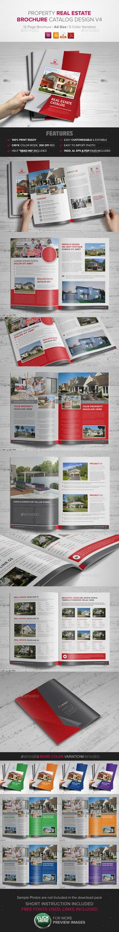Real Estate Property Brochure Catalog
