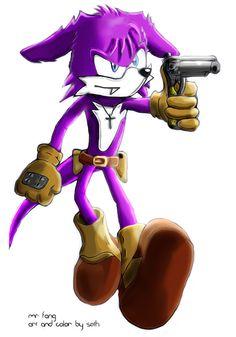 Fang the Sniper (Sonic Triple Trouble - 1994) Sonic the Hedgehog © Sega, Sonic Team