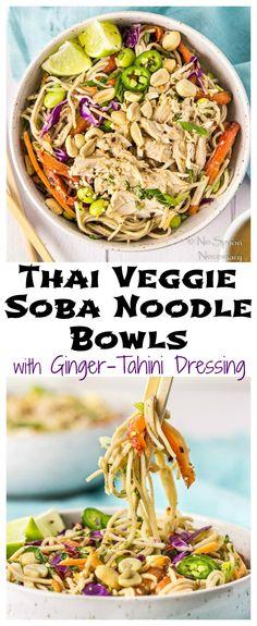 Thai Veggie Soba Noo
