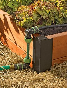 Apply water just where you want it — and not where you don't. With the Snip-n-Drip Raised Bed Soaker System you can easily create a convenient and streamlined watering system for your raised beds. No special tools required — just use scissors to cut the hoses to the sizes you need. Snap the fittings in place and you're ready to water.