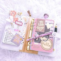 Fashion Show Setup Album 49 Ideas Cute Journals, Cute Notebooks, Cute Planner, Happy Planner, Cool School Supplies, Cute Stationary, Planner Supplies, Planner Decorating, Scrapbook Journal